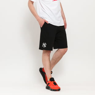 New Era MLB Logo Jersey Shorts NY