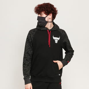New Era NBA Print Panel Hoody Chcago Bulls
