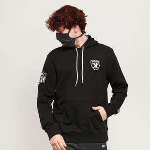 New Era NFL Chest Print Team Logo Hoody Raiders