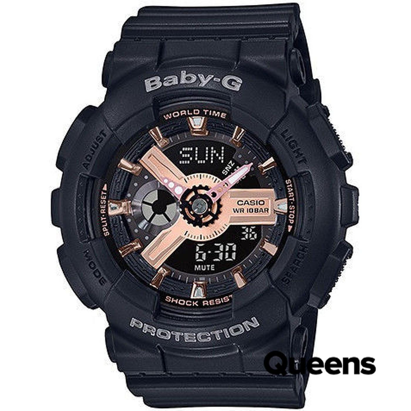 Casio Baby-G BA 110RG-1AER black