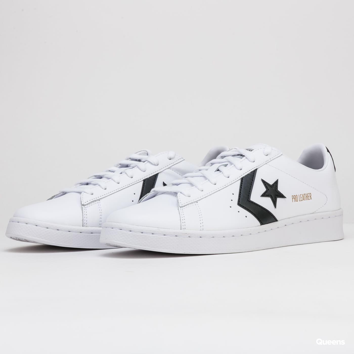 Converse Pro Leather Gold Standard OX white / cblack / white