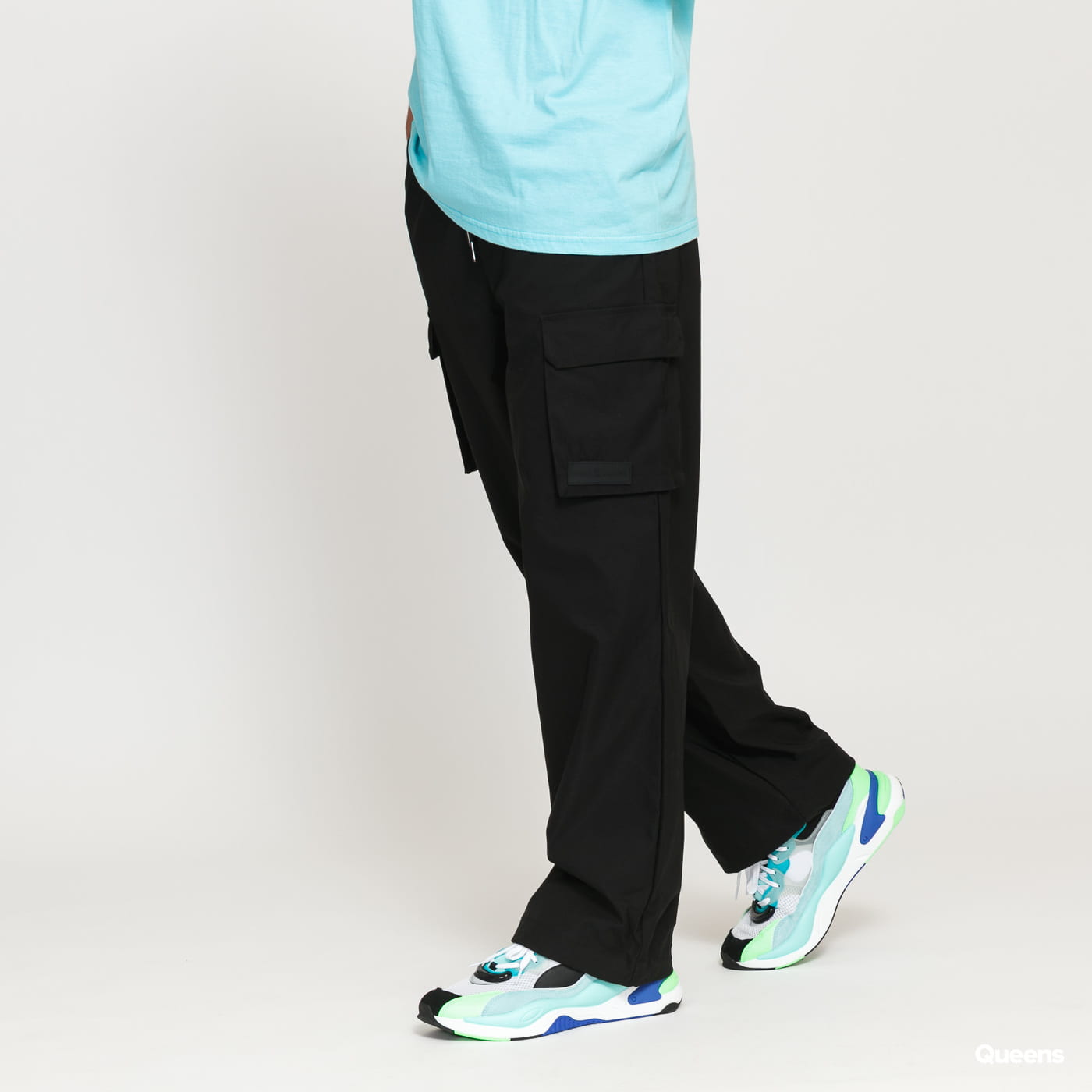 Daily Paper Black Recargo Trackpants