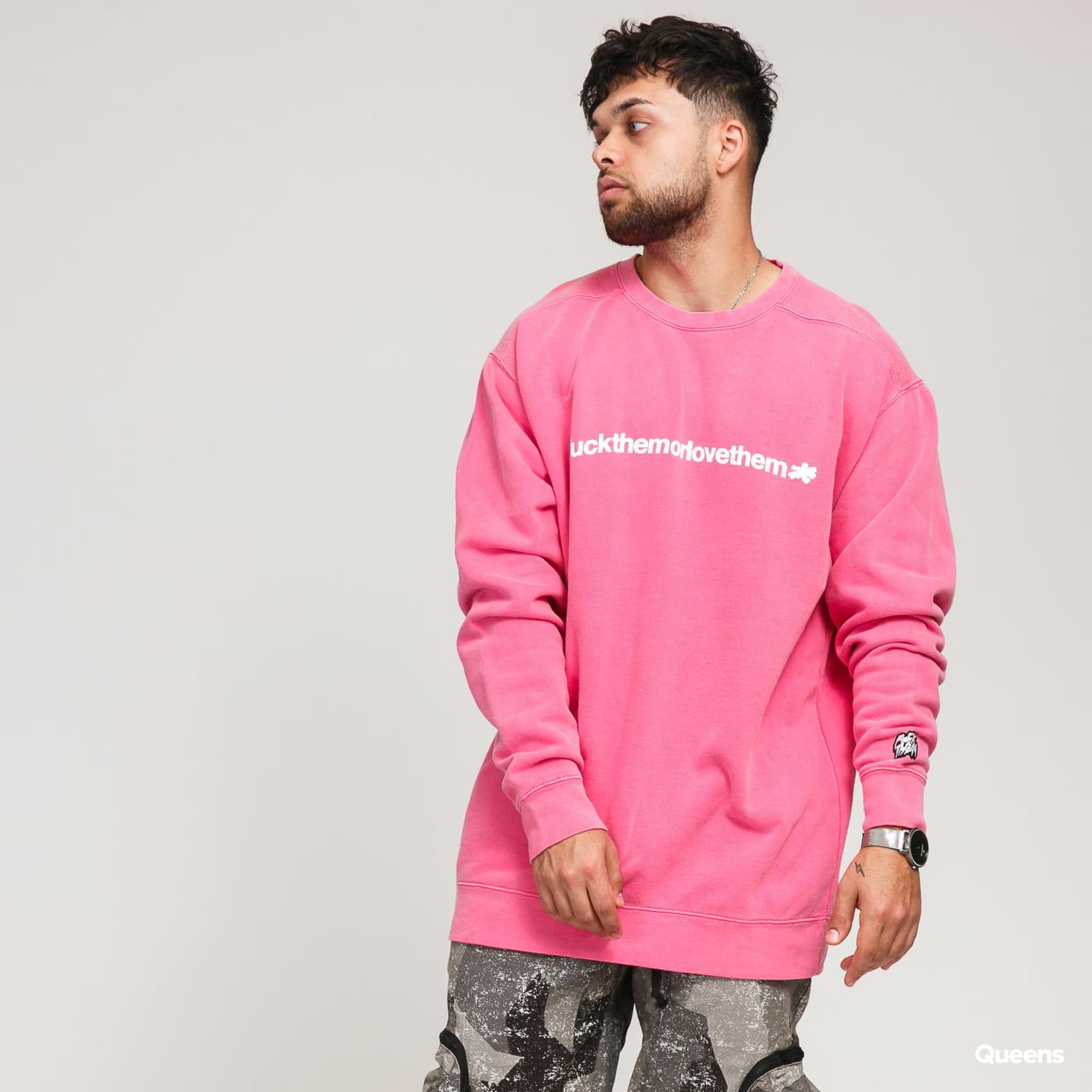 F*CK THEM FTMLT Crewneck pink