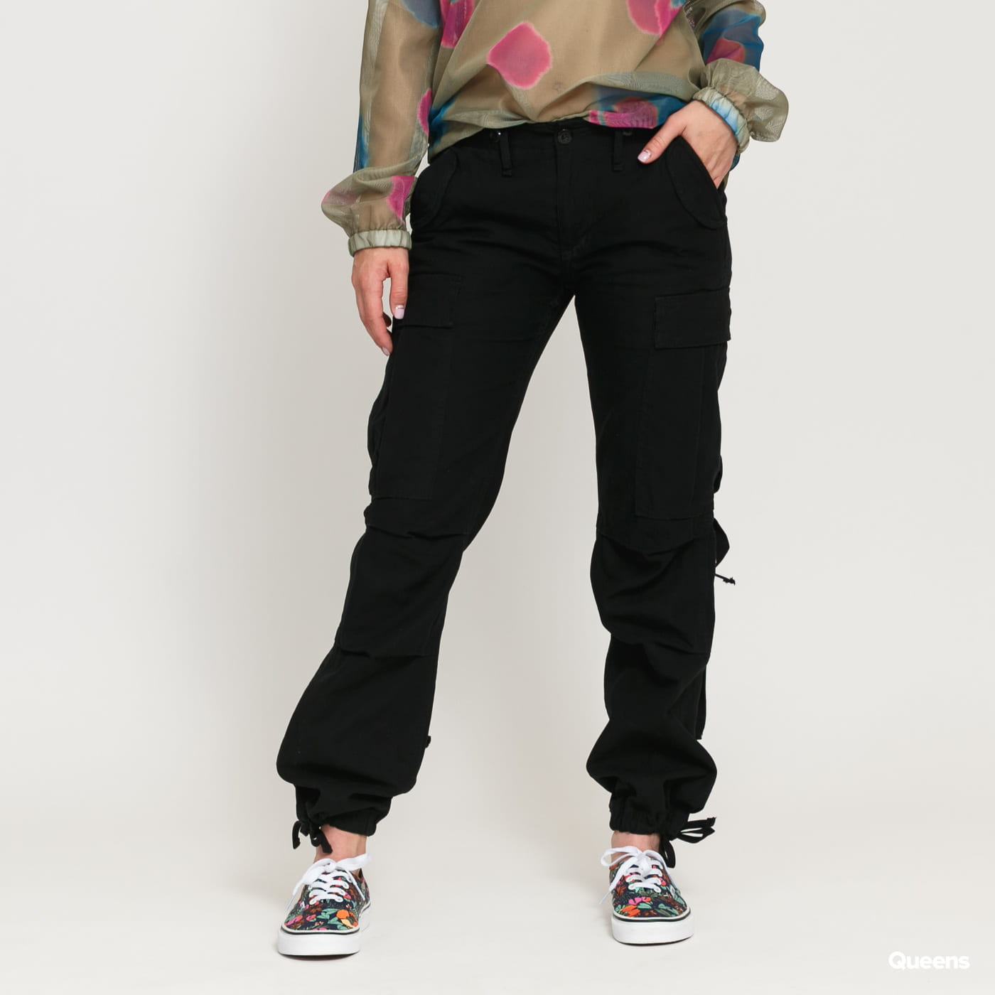 Urban Classics Ladies M-65 Cargo Pants black