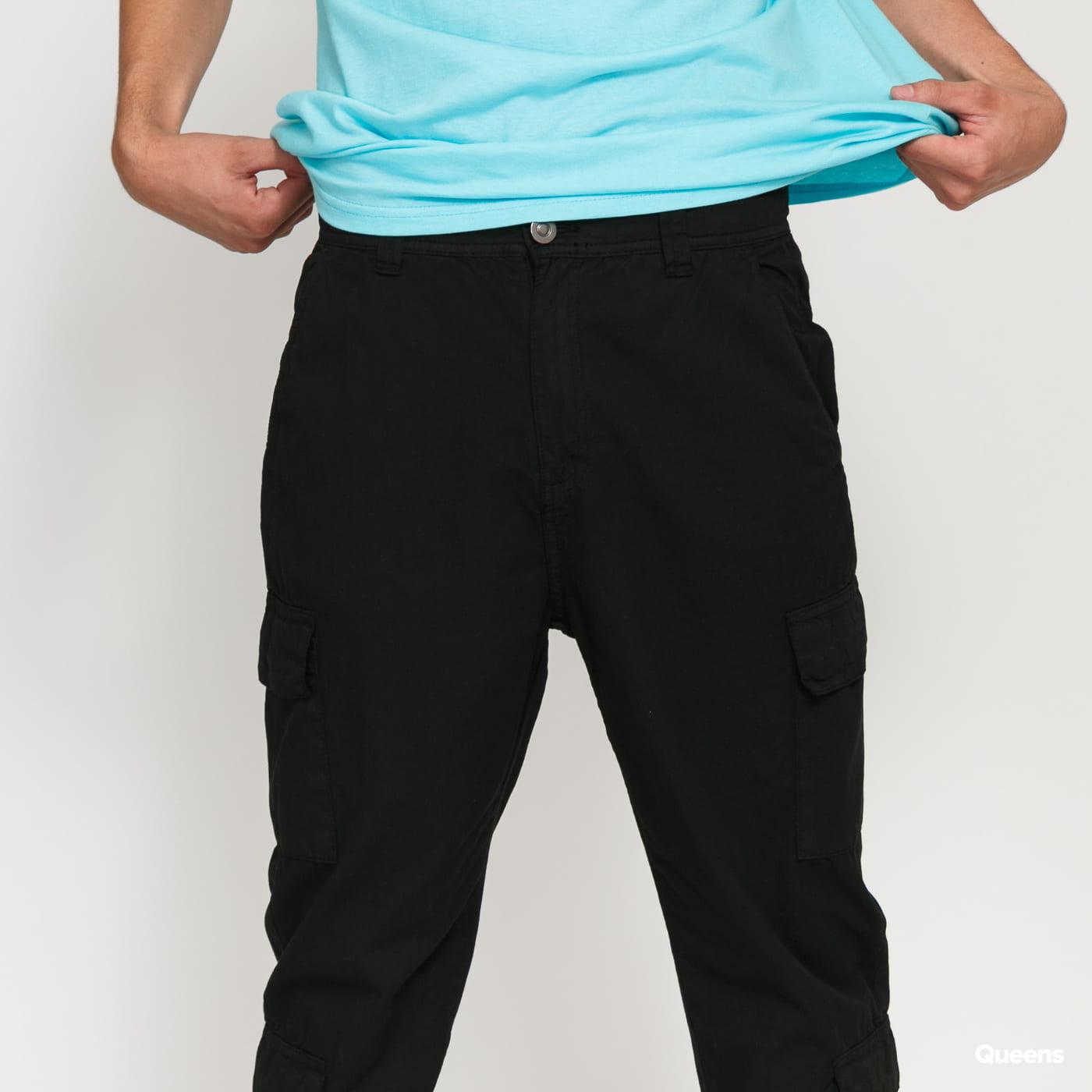 Urban Classics Tapered Double Cargo Pants black