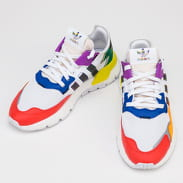 adidas Originals Nite Jogger Pride ftwwht / cblack / silvmt