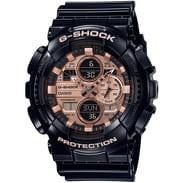 Casio G-Shock GA 140GB-1A2ER black / bronze