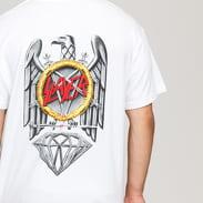 Diamond Supply Co. Diamond X Slayer Brilliant Abyss Tee bílé