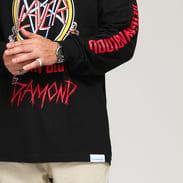 Diamond Supply Co. Diamond X Slayer Reign In Blood LS Tee černé