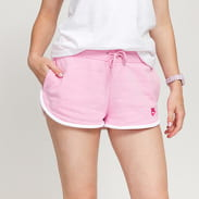 Nike W NSW Heritage Short Fleece růžové / bílé