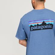 Patagonia M's P6 Logo Responsibili Tee melange modré