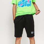 Pink Dolphin Wave Sport V2 Short černé / neon zelené