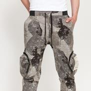 PREACH Cotton Cargo Pant camo grey / dark grey