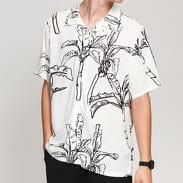 Stüssy Banana Tree Shirt bílá / černá