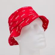 Urban Classics Maison Bucket Hat červený / bílý