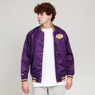 Mitchell & Ness CNY Satin Jacket LA Lakers