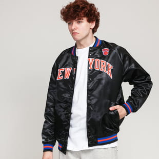 Mitchell & Ness NBA Lightweight Satin Jacket Knicks