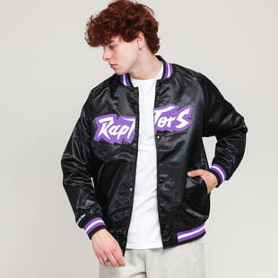 Mitchell & Ness NBA Lightweight Satin Jacket Raptors