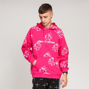 Pink Dolphin Mr. Positive Sketch Hoodie