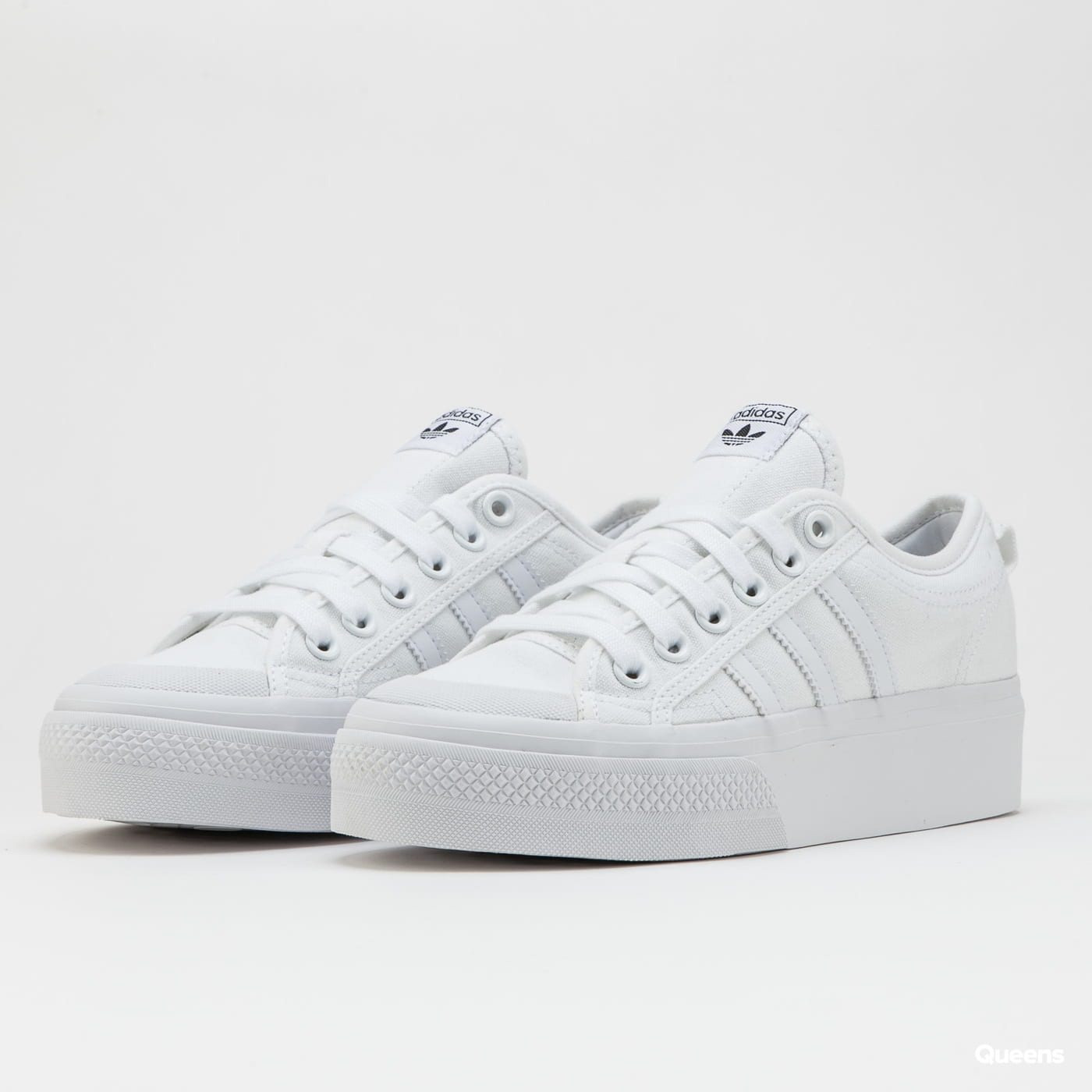adidas Originals Nizza Platform W ftwwht / ftwwht / ftwwht