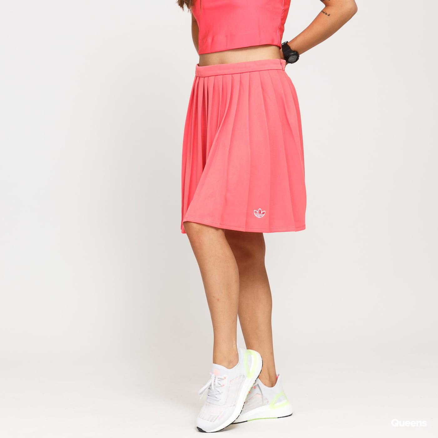 adidas Originals Skirt tmavě růžová