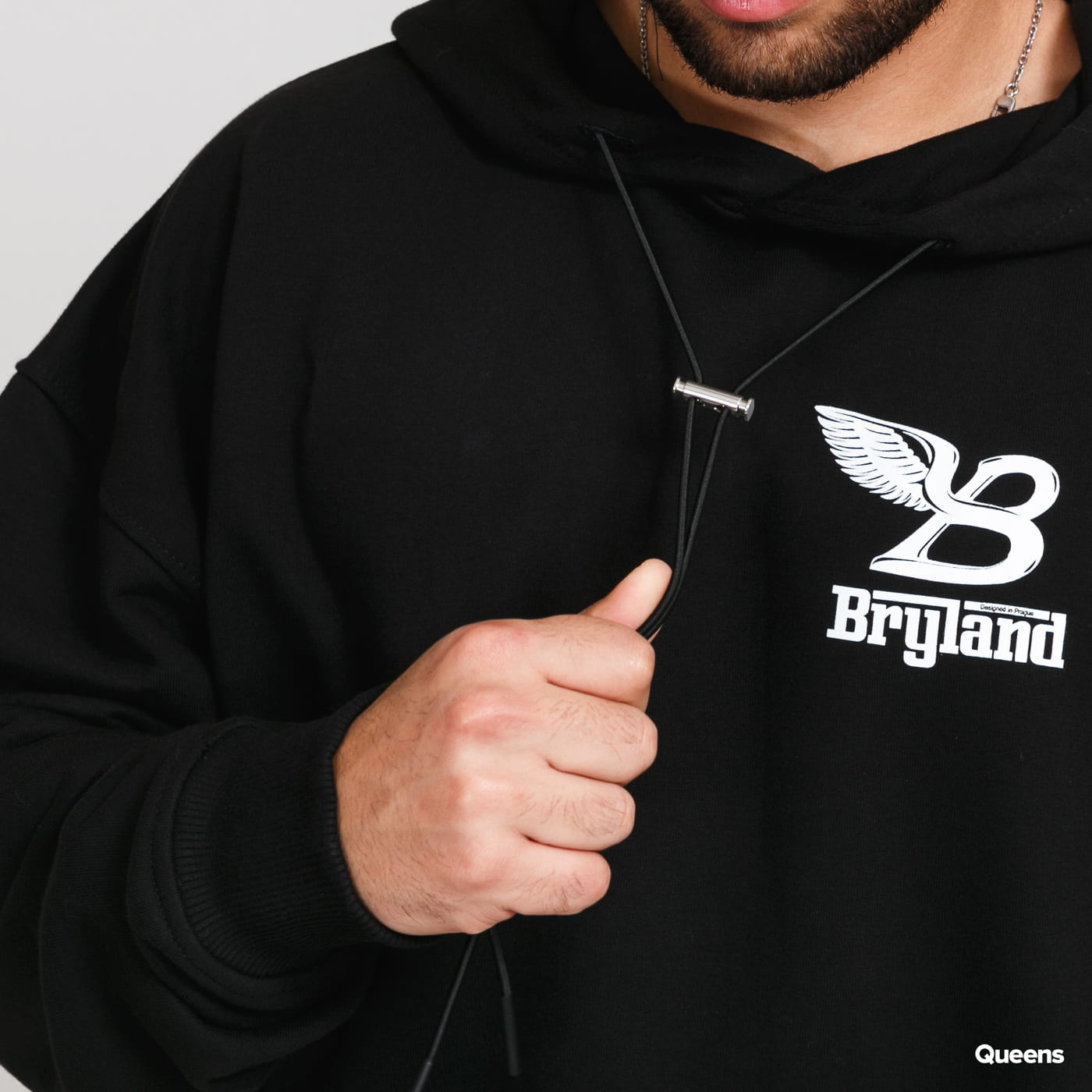 Bryland Company Flying B Heavyweight Hoodie black