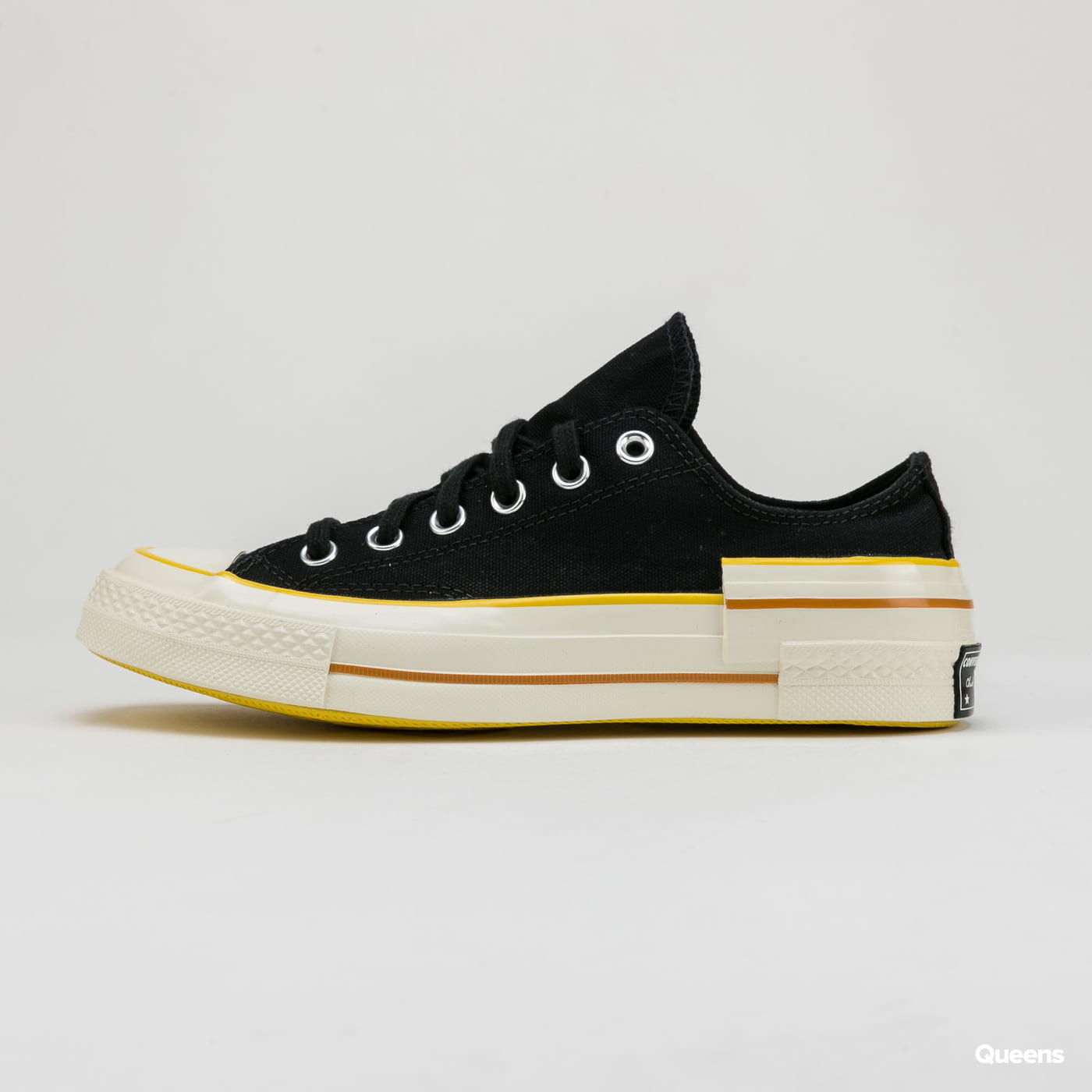 Converse Chuck 70 OX black / speed yellow / egret