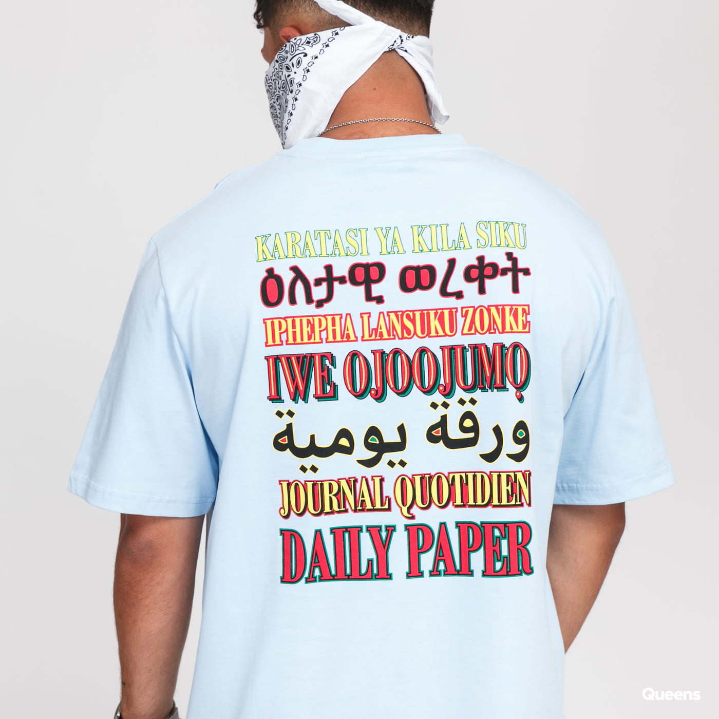 Daily Paper Remulti Tee light blue