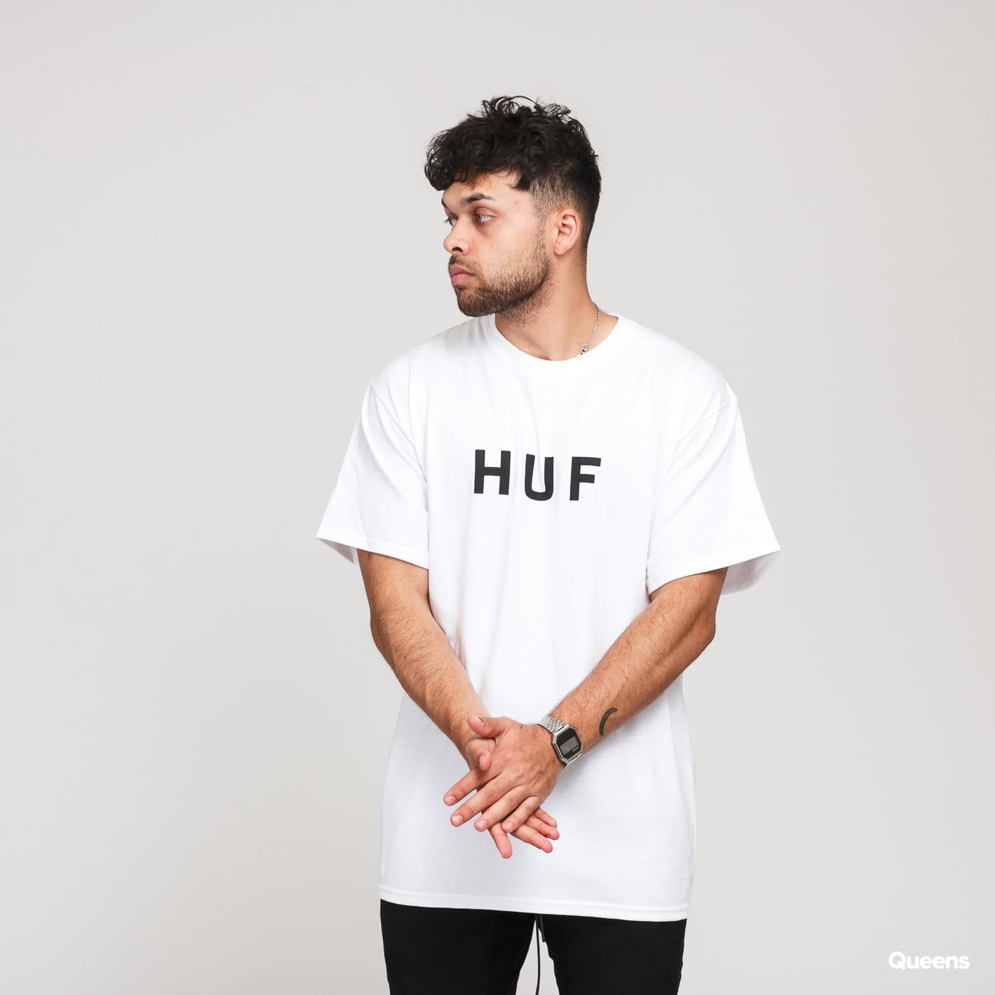 HUF Essentials OG Logo Tee blue / turquoise