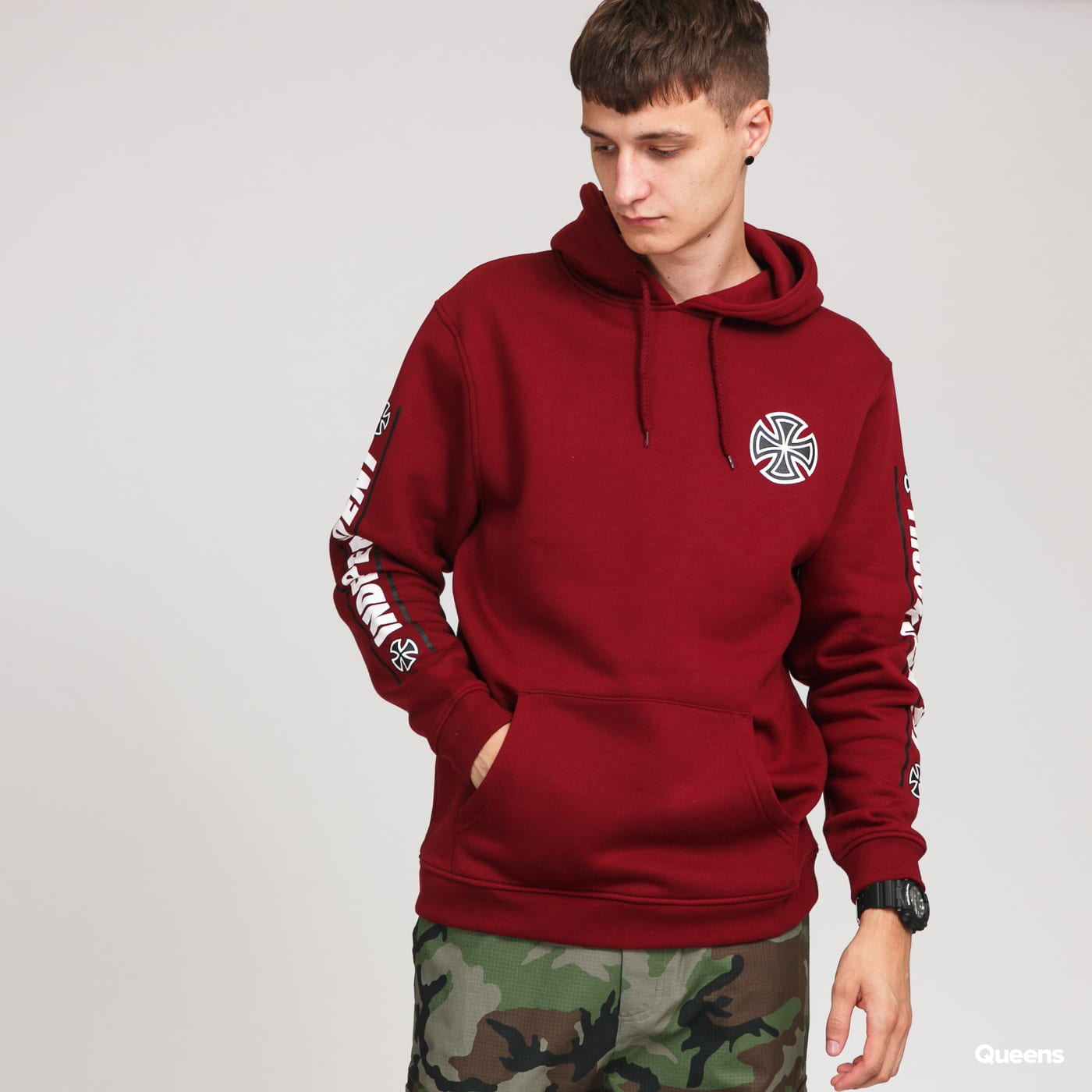 INDEPENDENT Shear Hoody bordeaux