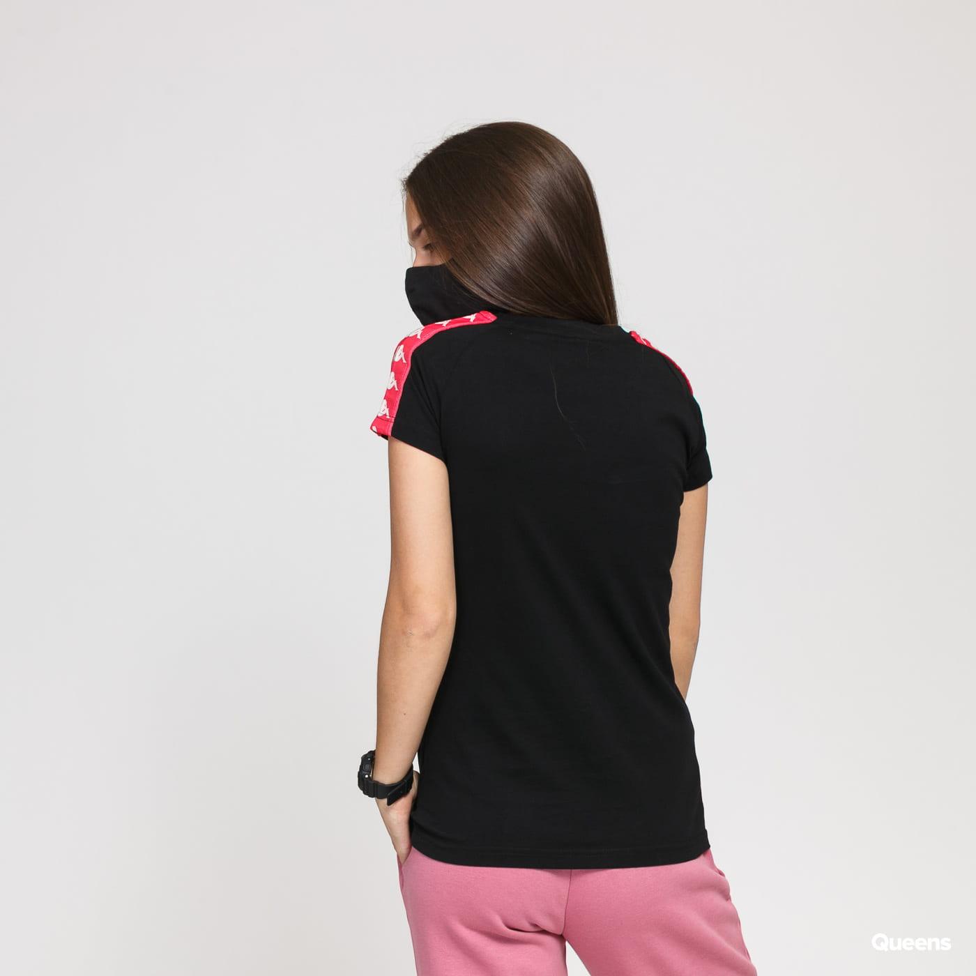 Kappa Banda Woen Tee black / pink / white