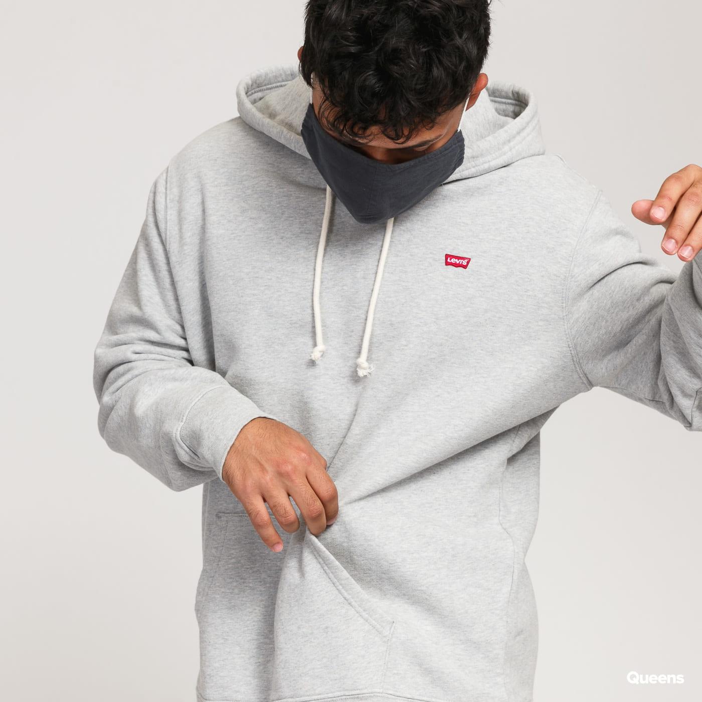 Levi's ® New Original Hoodie melange šedá