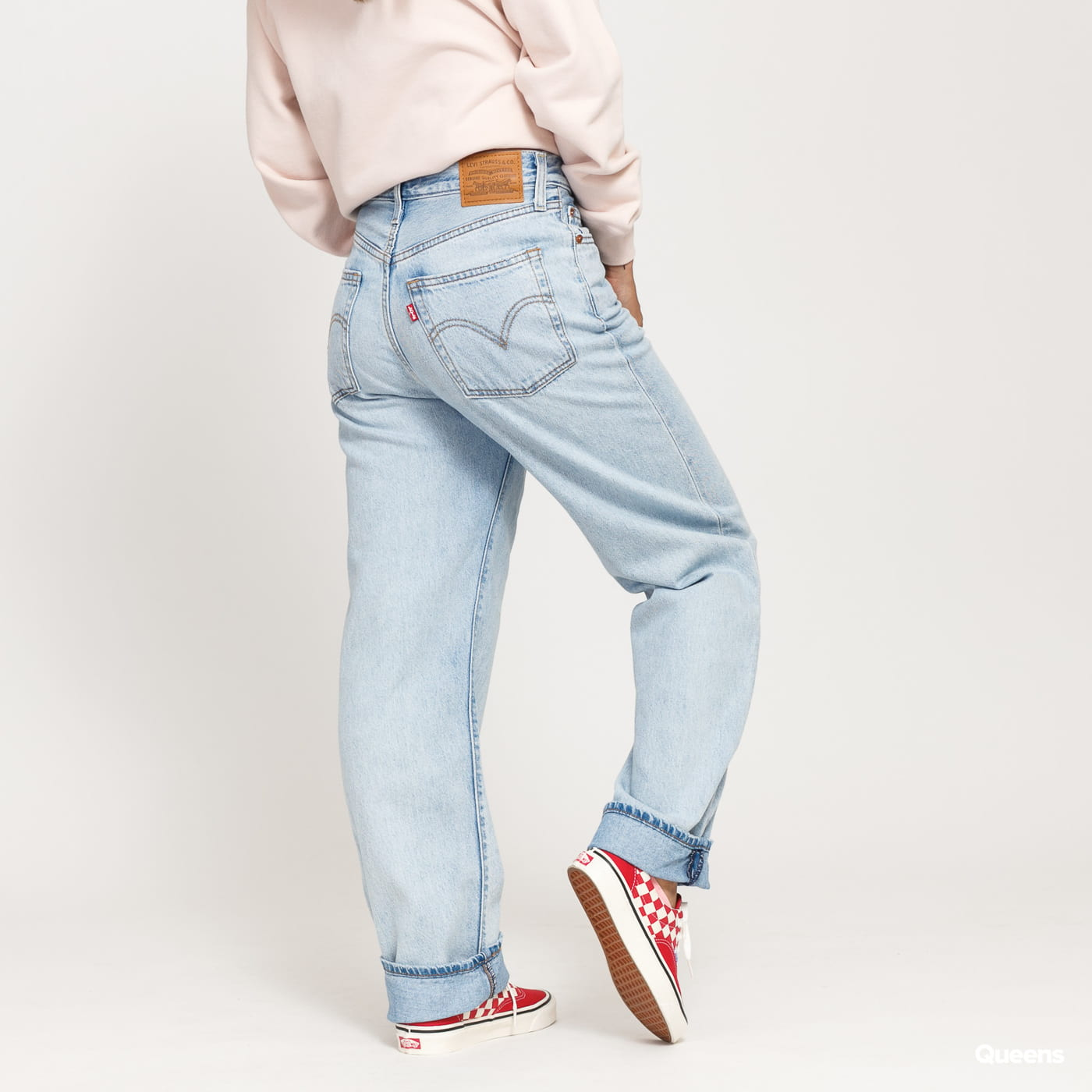 Levi's ® Ribcage Straight ankle middle road