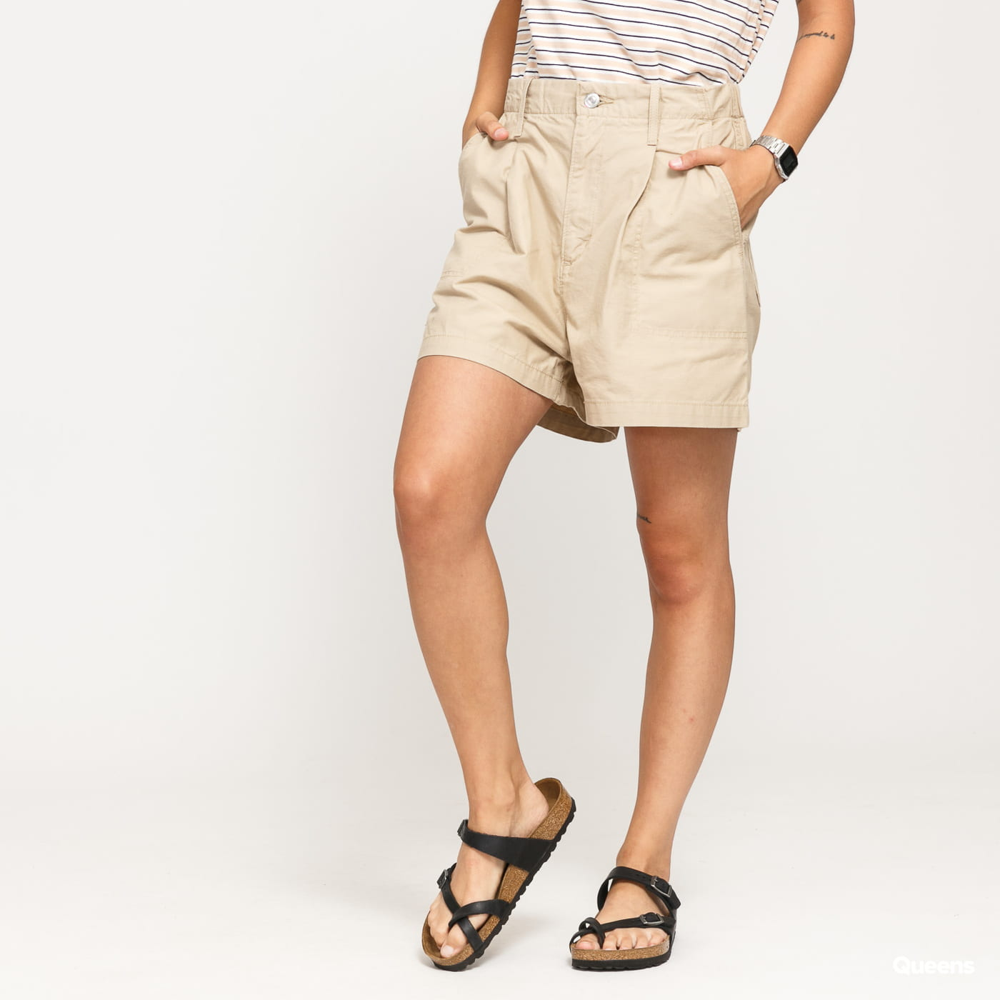 Levi's ® W Pleated Utility Short