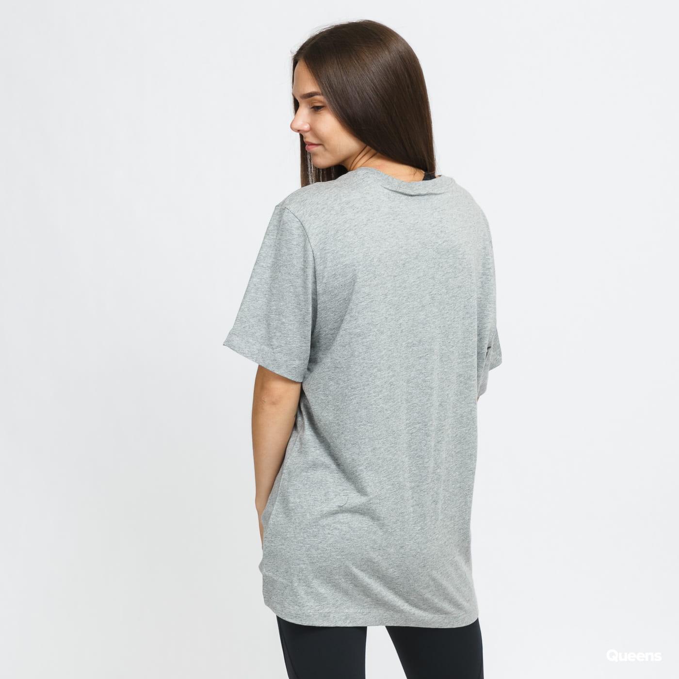 Nike M NSW Tee Icon Futura melange šedé
