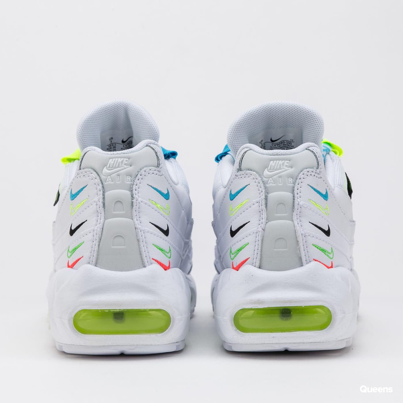 Nike W AIr Max 95 SE Worldwide white / white - volt - blue fury