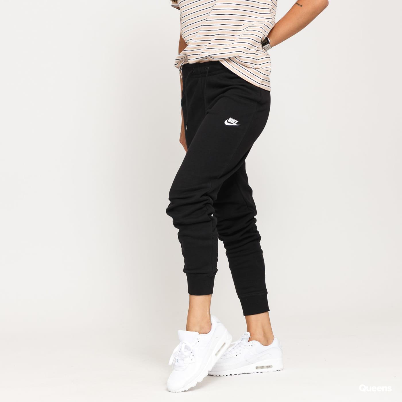 Nike W NSW Essential Pant Tight Fleece černé