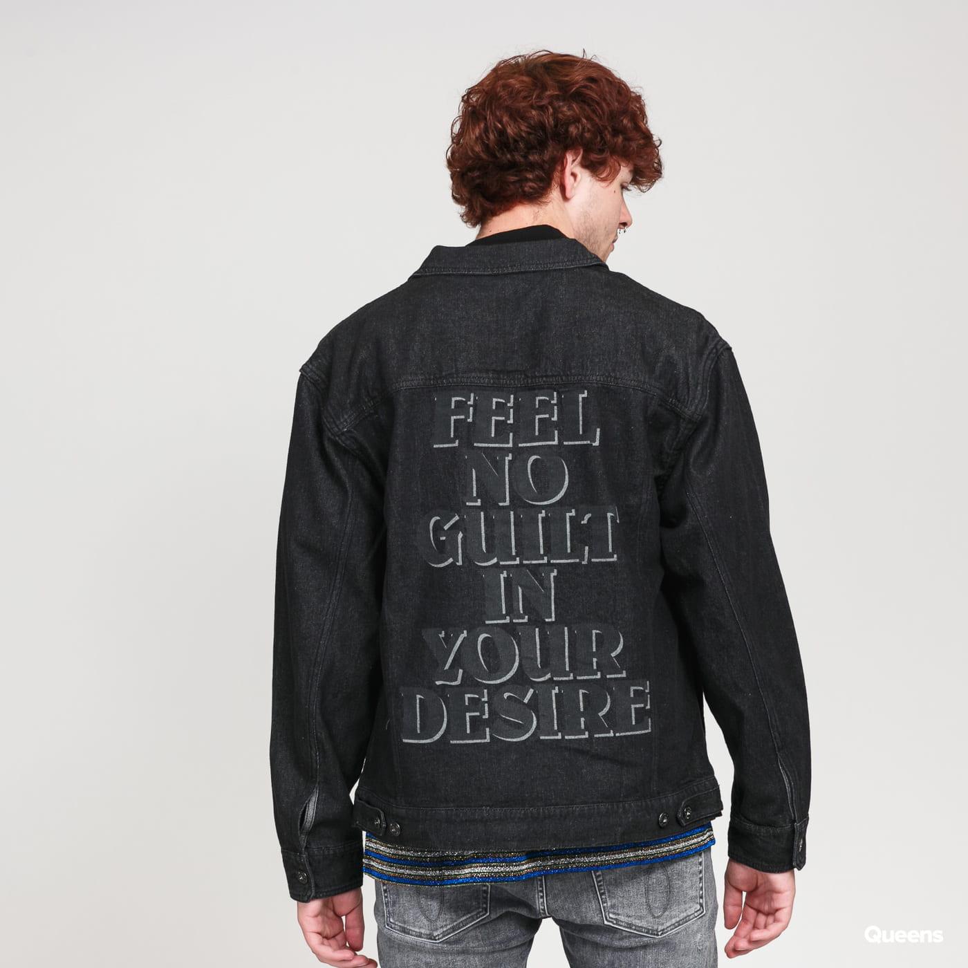 PLEASURES Desire Trucker Jacket blk