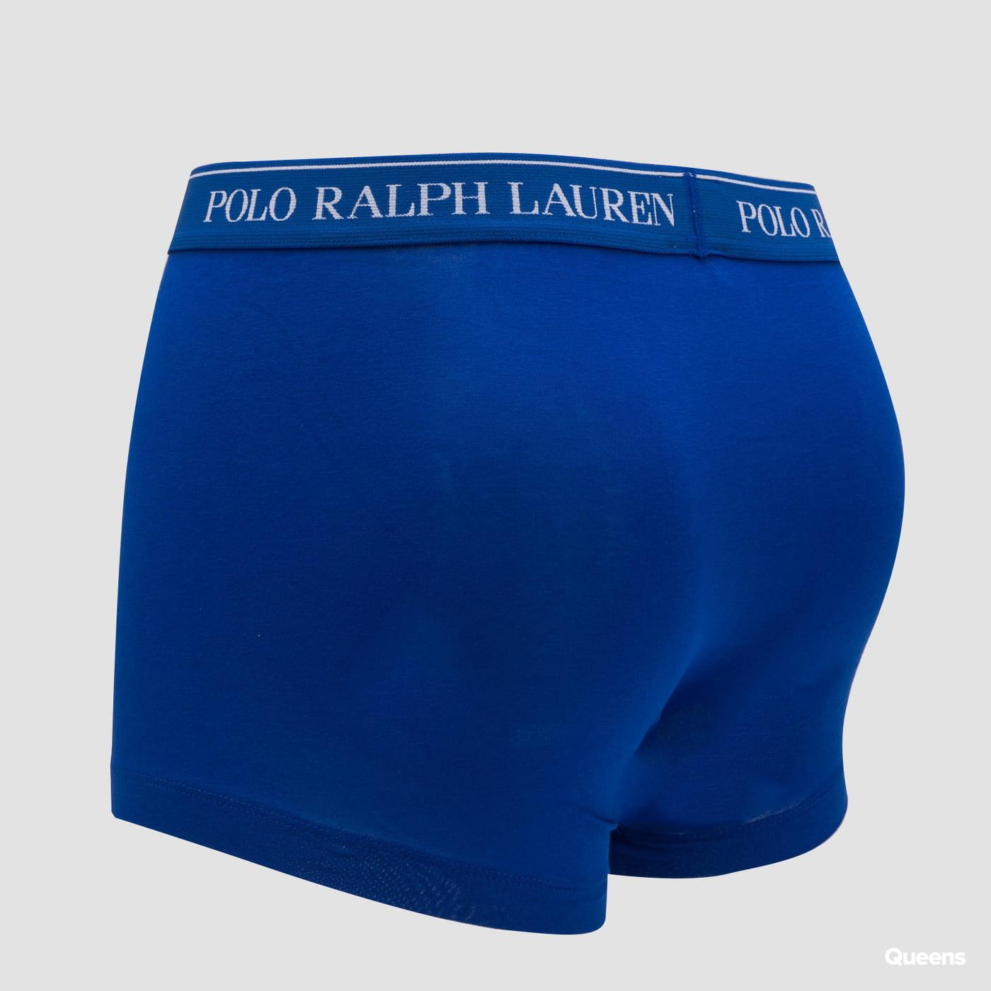 Polo Ralph Lauren 3Pack Stretch Cotton Classic Trunks C/O svetlomodré / modré / navy