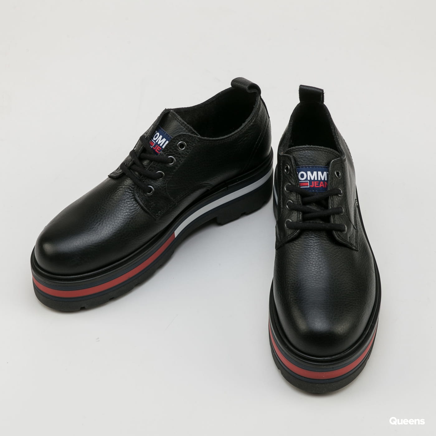 TOMMY JEANS Flag Outsole Lace UP blk