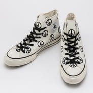 Converse Chuck 70 Hi - Unleash Peace egret / black / egret