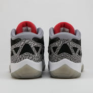 Jordan Air Jordan 11 Retro Low IE black / fire red - cement grey