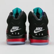 Jordan Air Jordan 5 Retro black / new emerald - fire red