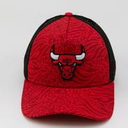 New Era 940 AF Trucker NBA Hook Chicago Bulls červená / tmavě červená / černá