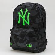 New Era MLB Stadium Bag NY camo černý / neon zelený