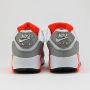 Nike Air Max 90 white / white - hyper orange