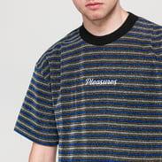 PLEASURES Disturbed Glitter Stripe Shirt multicolor