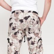 PREACH Cotton Cargo Pants Military Camo camo beige / brown / black / light mint