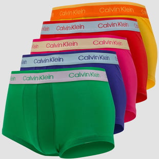 Calvin Klein 5 Pack Low Rise Trunk
