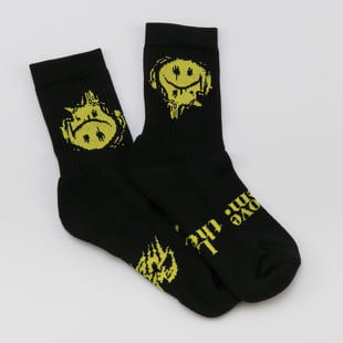 F*CK THEM Smiley Socken